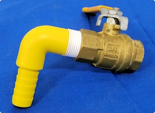 Ball Valve Brass 3/4