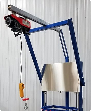 Pro Air Powered Soap Cutter Hoist